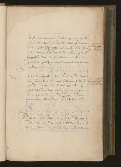 Cim I 174 — Adam Tratziger: Hamburger Chronik — Hamburg, 17. Jh., 1. Hälfte